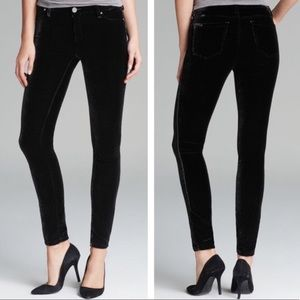 NWT Blank NYC Skinny Velvet Black pant